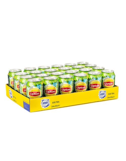 Lipton Ice Tea Green tray 33cl