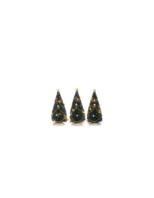 LuVille Christmas tree with flashing lights 3 pieces