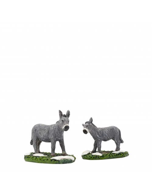 LuVille Donkey and foal 2 pieces