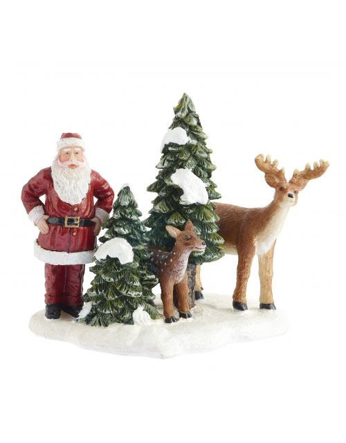 LuVille Santa and Deers