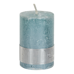 PTMD Metallic Mint Green Pillar Candle