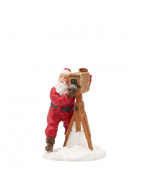 LuVille Santa takes a photo